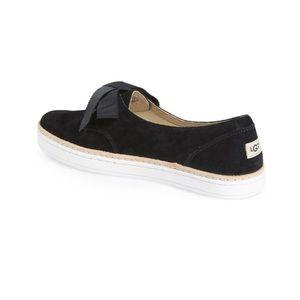 UGG Shoes - UGG   Carilyn Sneaker Black Suede Women'sSize 5.5
